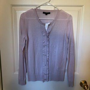 🆕 Lavender Lilac Banana Republic Cardigan Sweater